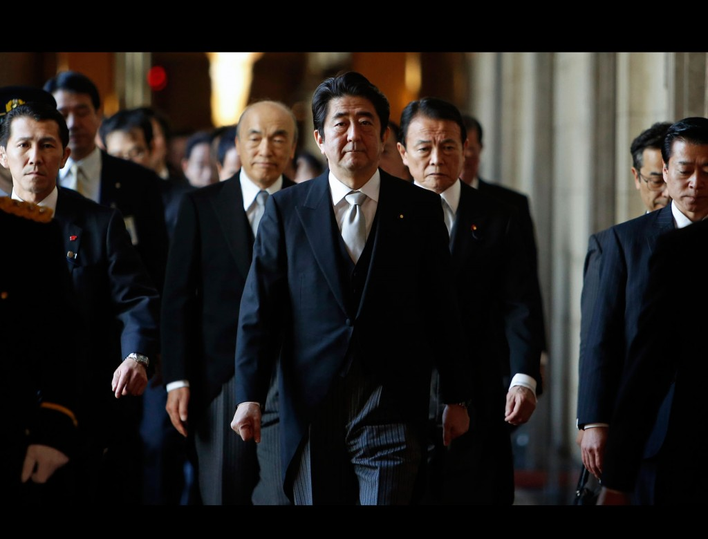 Realism vs. Revisionism in Abe's Foreign Policy in 2014