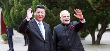 """As Xi Jinping's China """"Goes West,"""" Narendra Modi's India """"Acts East"""""""