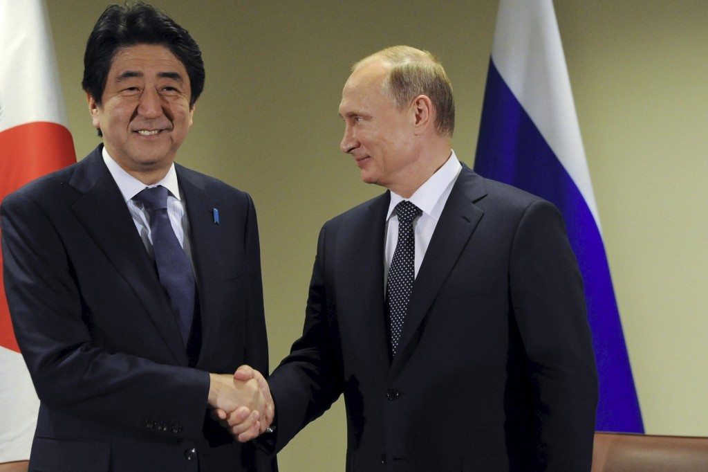 The Japan-US-Russia Triangle in 2016