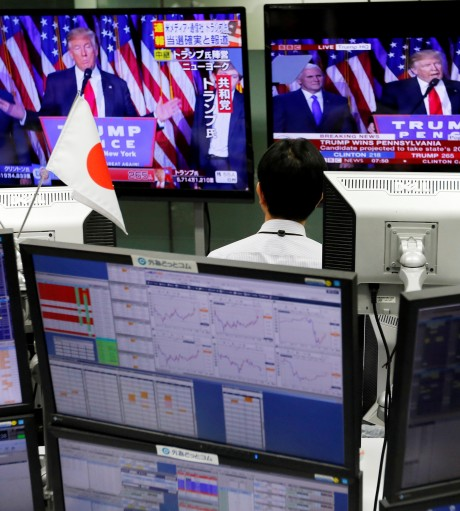 Japanese Media on the Impact of Donald Trump's Election on Japan and China